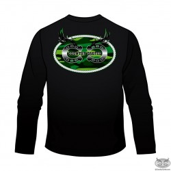 Country Cartel Long Sleeve Green Logo T