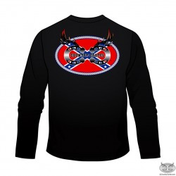 Country Cartel Long Sleeve Confederate Logo T