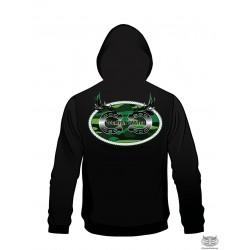 Country Cartel Green Logo Hoodie
