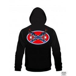 Country Cartel Confederate Logo Hoodie