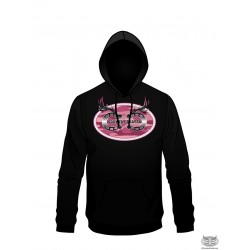 Country Cartel Pink Camo Oval Hoodie
