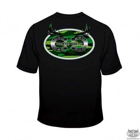 Country Cartel Green Logo T