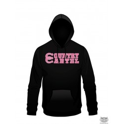 Country Cartel Pink Double Horseshoe Hoodie
